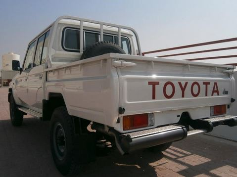 Toyota Landcruiser HZJ79 Pick-up Double Cab